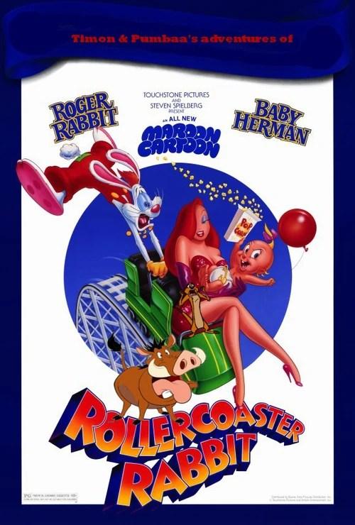 Timon And Pumbaas Adventures Of Roger Rabbit Roller Coaster Rabbit Poohs Adventures Wiki