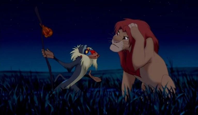 Rafiki e Simba