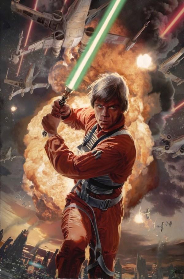Star Wars Luke Skywalker Art