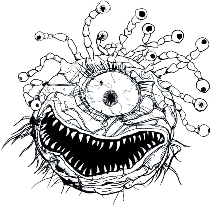 [Let's Read] D&D3.5 Monster Manual (by someone with no