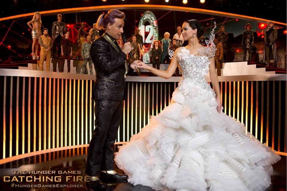 Katniss Everdeen Catching Fire Parade