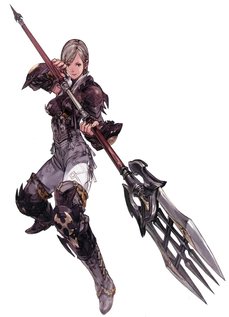 Lancer Final Fantasy XIV Final Fantasy Wiki Wikia