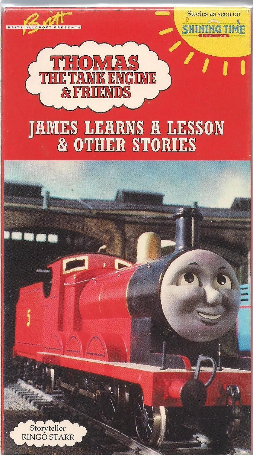 James Learns A Lesson And Other Stories Thomas The Tank