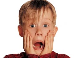 Home alone macaulay culkin kevin mccallister boy fear shout fright 346 1600x1200