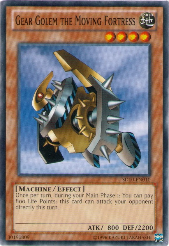Gear Golem the Moving Fortress  YuGiOh  Its time to