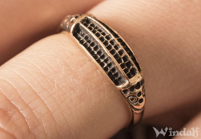 Wikinger Ring  VARGARD  Schutzring  Bronze  Viking
