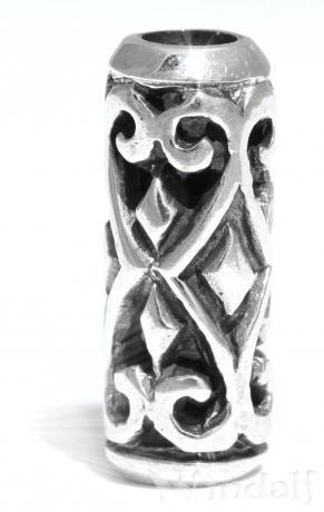 Viking Bart  Haarschmuck  AVENTIA  17 cm  Lebens