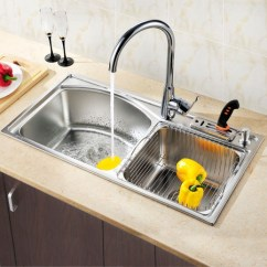 Under Mount Kitchen Sink Commercial Hood Installation 厨房水槽单槽好还是双槽好 京东