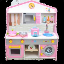 childrens toy kitchen showrooms nj 儿童玩具厨房 价格 儿童玩具厨房报价行情 多少钱 京东 幼乐比生日礼物过家家厨房套装女孩儿童木质儿童玩具男孩