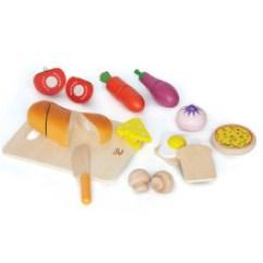 Hape Kitchen Corner Table Sets Hape厨房 新款 Hape厨房2019年新款 京东 美食家料理厨房食物套装3 6岁儿童宝宝模仿切切乐男