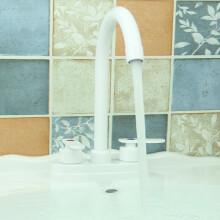 kitchen faucets for sale island cabinet 塑料厨房水龙头 价格 塑料厨房水龙头报价行情 多少钱 京东 家用洗脸盆双孔塑料水龙头冷热两用厨房菜盆双接