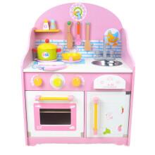 childrens toy kitchen pedestal table 儿童玩具厨房玩具 价格 儿童玩具厨房玩具报价行情 多少钱 京东 幼乐比圣诞礼物过家家厨房套装女孩儿童木质儿童玩具男孩