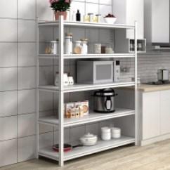 Kitchen Pull Out Shelves King Cabinets 普拉格组合书架 新款 普拉格组合书架2019年新款 京东 普拉格厨房家用置物架钢制微波炉架落地多层厨具仓库