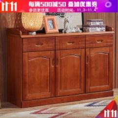 36 Inch Kitchen Cabinets Supplies Online 实木厨柜好 型号 实木厨柜好型号 规格 京东 新柜尔中式餐边柜客厅实木储物茶水柜大容量碗