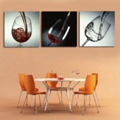 Kitchen Pub Sets Portable 厨房四宝一套 型号 厨房四宝一套型号 规格 京东 Bjy美时美刻红酒玻璃杯现代简约餐厅酒吧厨房酒店装饰画