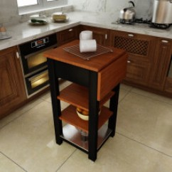 Kitchen Desk Island Ideas For Small 厨房折叠桌子 图片 厨房折叠桌子图片大全 精选图片 京东 厨房全实木切菜桌可折叠桌子可移动推车置物架厨房