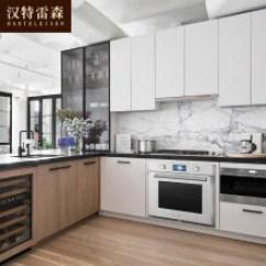 Acrylic Kitchen Cabinets Refrigerator Small 门板厨柜 图片 门板厨柜图片大全 精选图片 京东 汉特雷森整体橱柜定做现代简约风格橱柜进口亚克力门板订制