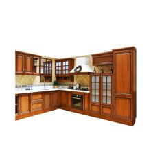 oak kitchen cabinet handles black 橡木厨柜 价格 橡木厨柜报价行情 多少钱 京东 柏松家居橱柜定做整体红橡木橱柜定制欧式实木厨房装修厨柜