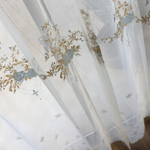 french lace kitchen curtains value city sets 法式浪漫窗帘 价格 法式浪漫窗帘报价行情 多少钱 京东 轻奢简欧风格欧式精致刺绣窗纱法式浪漫公主风蕾丝纱帘