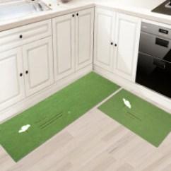 Green Kitchen Mat Cabinets Rta 绿色脚垫 价格 绿色脚垫报价行情 多少钱 京东 小棕熊家纺地垫玄关门垫进门脚垫入户厨房客厅地毯