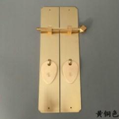 Brass Kitchen Hardware Three Hole Faucet 仿古典拉手 新款 仿古典拉手2019年新款 京东 中式仿古典家具铜五金配件把手书柜衣柜橱柜柜门环直条拉手
