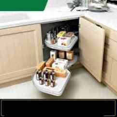 Kmart Kitchen Strainer 厨房旋转橱柜 型号 厨房旋转橱柜型号 规格 京东 厨房橱柜拉篮旋转拐角联动拉篮橱柜宝玛凯斯置物架
