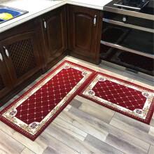 rugs for kitchen style ideas 厨房用地毯 新款 厨房用地毯2019年新款 京东 简约现代风厨房地毯吸水防滑地毯地垫厨房用地毯酒红50