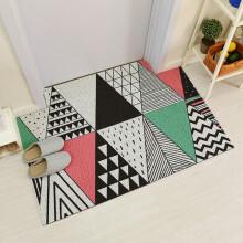 colorful kitchen rugs cupboard handles 温恋地毯地垫 新款 温恋地毯地垫2018年新款 京东 丝圈门垫进门入户脚垫卫生间