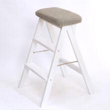 chairs for kitchen popular flooring 厨房椅子 价格 厨房椅子报价行情 多少钱 京东 含雅厨房折叠凳实木创意梯凳简约现代款脚踩高凳