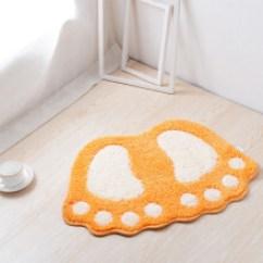 Orange Kitchen Rug Catalogs 橙色地毯 型号 橙色地毯型号 规格 京东 优宜地垫门垫进门吸水浴室防滑垫家用门厅门口地毯厨房
