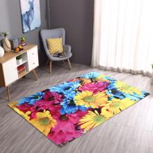 colorful kitchen rugs backsplash trim ideas 地毯向日葵 新款 地毯向日葵2019年新款 京东 3d防滑地毯地垫进门垫卧室门厅厨房家用客厅毯卫生间门口地