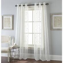 grommet kitchen curtains elegant valances 美国直邮nanshing窗帘2件套花卉滚动窗帘面板2套与索环 图片价格品牌报价 京东