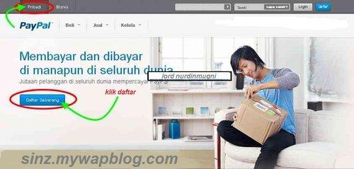 Tutorial Lengkap Cara membuat Rekening Online di Paypal