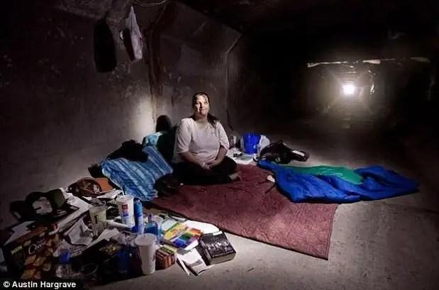 noticias Otra cara de Las Vegas: cientos de personas viven en túneles