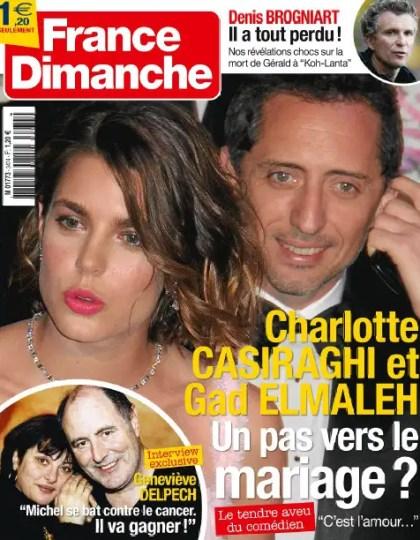 France Dimanche N°3474 du 29 Mars au 04 Avril 2013