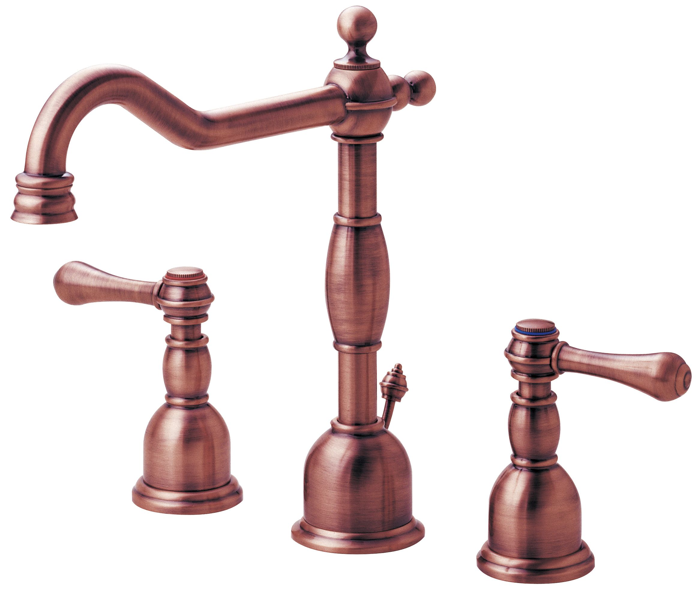antique copper kitchen faucet aid dish washer danze d304057ac opulence two handle widespread lavatory