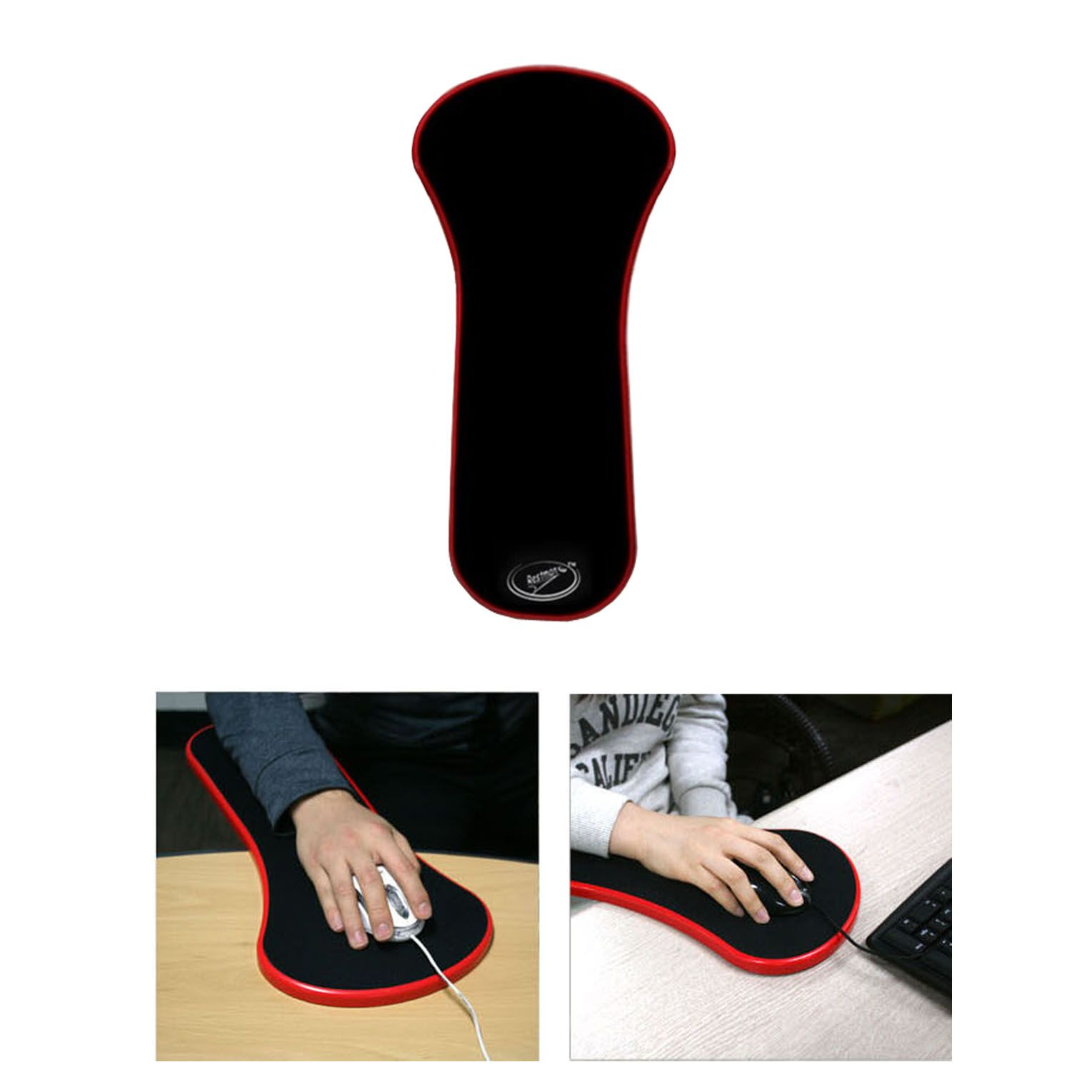 fishing chair umbrella clamp overstock dining room covers new easy arm pad for desk or rest mouse