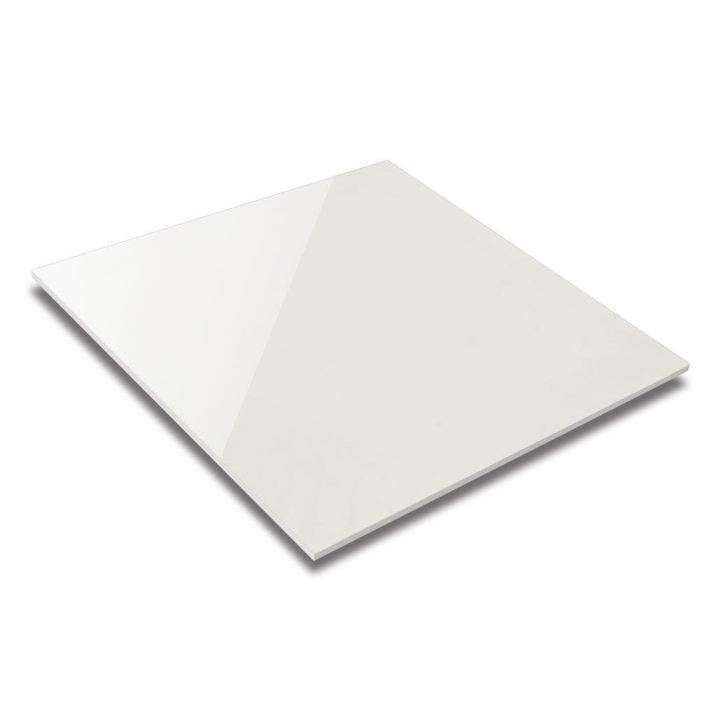 black white polished porcelain tile
