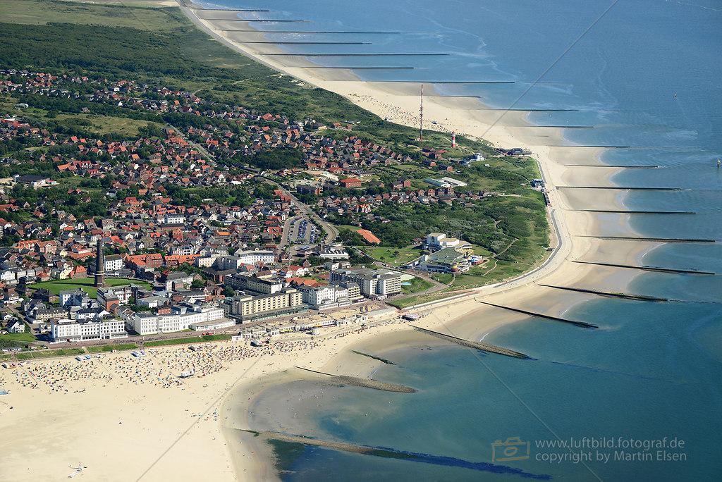 Borkum Luftbilder  Luftbild