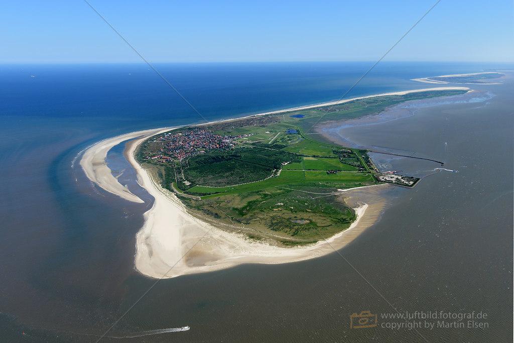 Langeoog Luftbild  Luftbild