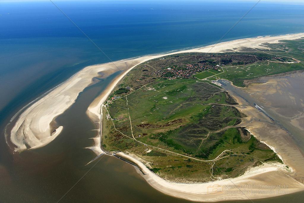 Luftbilder Spiekeroog  Luftbild