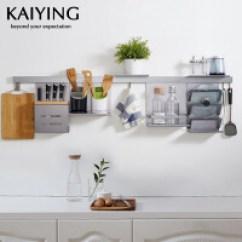 Kitchen Pendents Wood Tile 厨房挂件 厨房挂件价格 厨房挂件怎么样 当当网 凯鹰厨房挂件厨房置物架壁挂太空铝锅盖架厨卫五金