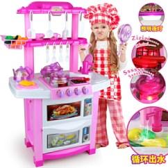 Kid Kitchens Kitchen Cabinet Reface 爱婴乐过家家玩具 儿童过家家厨房玩具做饭女孩1 2 3 4 5 6岁7宝宝小孩益