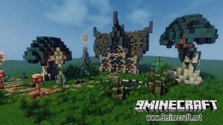 Elven House Map 9Minecraft Net