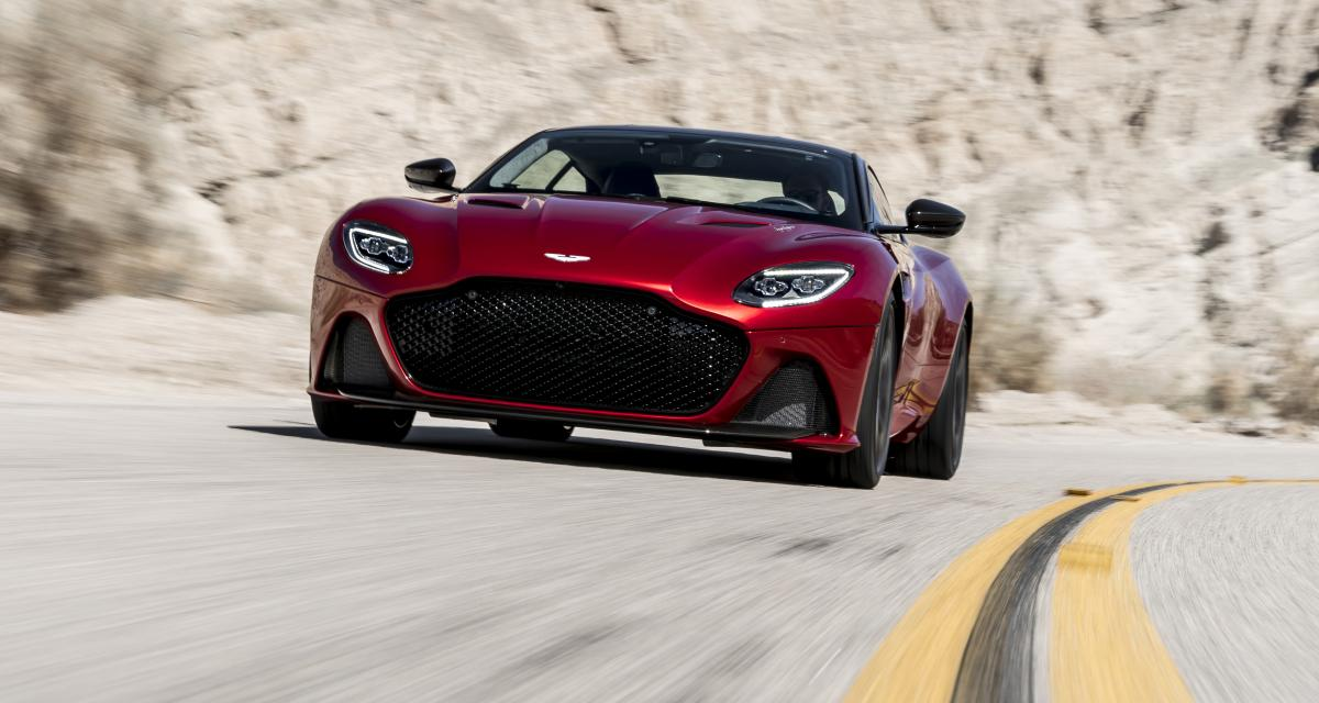 Aston Martin DBS Superleggera  photos et fiche technique