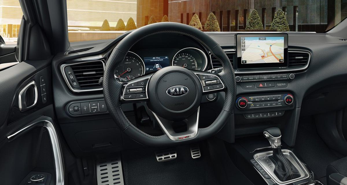 Kia Ceed GT Line  installation audio JBL et connectivit