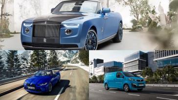 une Rolls-Royce à 28M$, Cupra Born, Peugeot hydrogène…