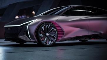 un concept-car inspiré par les phénomènes cosmiques