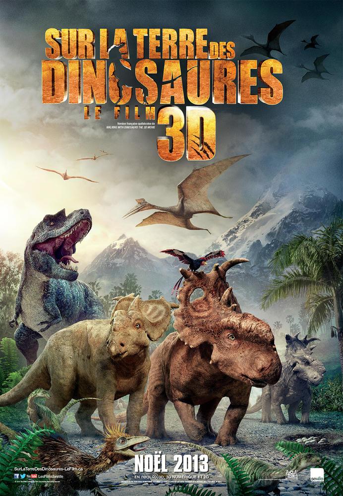 Sur La Terre Des Dinosaures (film) : terre, dinosaures, (film), TERRE, DINOSAURES, (2013), Cinoche.com