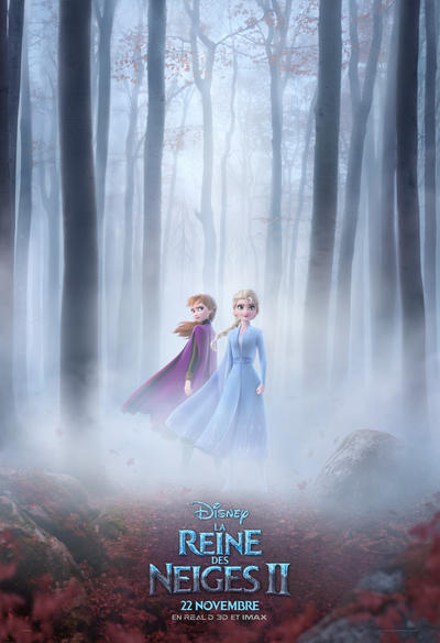 La Reine Des Neiges En Anglais : reine, neiges, anglais, REINE, NEIGES, (2019), Cinoche.com